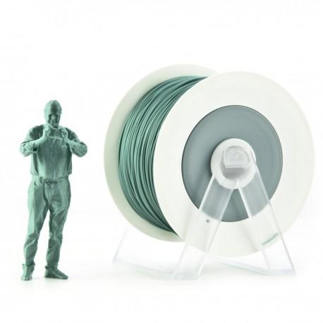 Filamento in PLA verde metallizzato